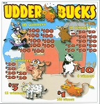 8640ct 3's $1.00 Udder Bucks [10-$100s]