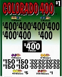 6972ct $1.00 3W Colorado 400 (7-$400s + $400Last Sale) $1.00 bottom tier