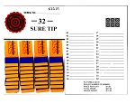 32 All Tips (Sure Tips) pkg of 12