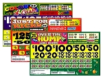 4000ct 25c 5W cash board (2-$150s or 2-$100s) 3 different titles