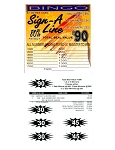 120ct $1.00 1W Sign-a-Line [1-$90 or 2-$45 or 3-$30]