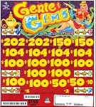 3159ct $1.00 3W Genie & Gems (18-$100s, 2-$205s) $2.00 bottom tier